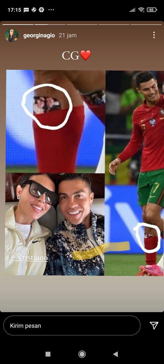 Georgina Rodriguez Bongkar Jimat yang Dipakai Cristiano Ronaldo Copyright: instagram.com/georginagio