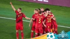 Indosport - Pertandingan Euro 2020: Belgia vs Portugal