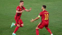 Indosport - Thorgan Hazard dan Eden Hazard