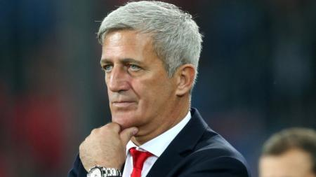 Pelatih Timnas Swiss di Euro 2020, Vladimir Petkovic. - INDOSPORT