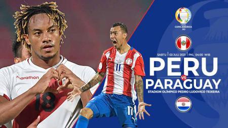 Link Live Streaming Pertandingan Perempat Final Copa America 2021 antara Peru vs Paraguay. - INDOSPORT