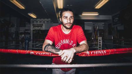 Nico Ali Walsh, cucu legenda tinju Muhammad Ali. - INDOSPORT