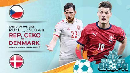 Pertandingan antara Republik Ceko vs Denmark (Euforia Eropa). - INDOSPORT