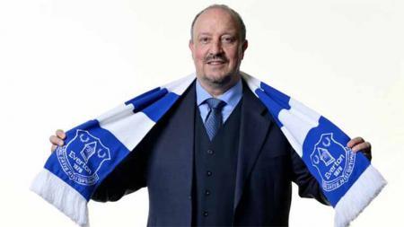 Pelatih baru Everton, Rafael Benitez. - INDOSPORT