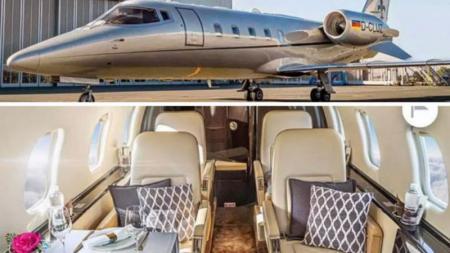 Sebuah perusahaan pesawat jet asal Denmark memberikan penawaran perjalanan kelas mewah jelang laga melawan Ceko. - INDOSPORT