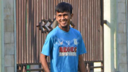 Pemain PSMS, Wiganda Pradika turut menyampaikan sejumlah harapannya di ulang tahun kota Medan yang ke-431. - INDOSPORT