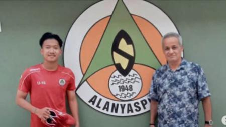 Pesepakbola muda Indonesia, Muhammad Yoan Saputra Arifin. - INDOSPORT