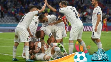 Hasil Euro 2020: Belgia vs Italia - INDOSPORT