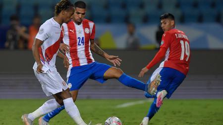 Peru vs Paraguay. - INDOSPORT