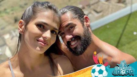 Tak dipanggil Timnas Spanyol ke Euro 2020, Isco berkeringat bersama istrinya, Sara Salamo. - INDOSPORT