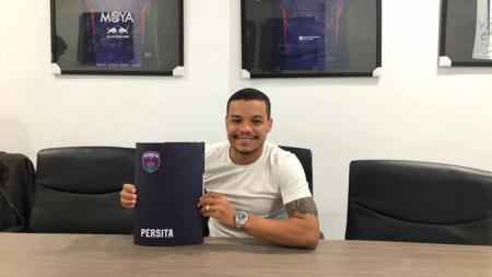 Pemain baru Persita, Harrison Cardoso. - INDOSPORT