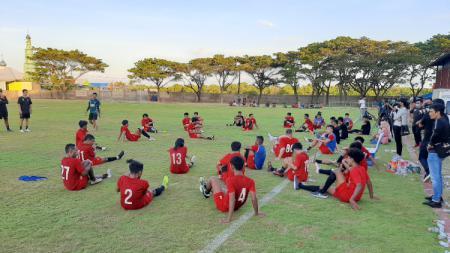 Skuat klub Liga 1 PSM Makassar saat berlatih di BSC - INDOSPORT