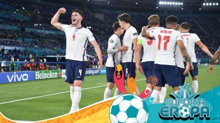 Tim nasional Inggris. - INDOSPORT