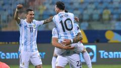 Indosport - Di Maria dan Messi.
