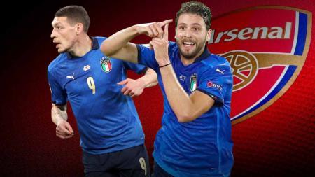 Arsenal membidik dua bintang timnas Italia di Euro 2020 yakni Andrea Belotti dan Manuel Locatelli. Seperti apa formasi mereka jika transfer itu terwujud? - INDOSPORT