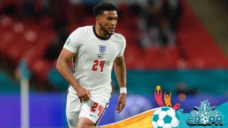 Reece James, pemain Timnas Inggris saat bermain di Euro 2020. - INDOSPORT