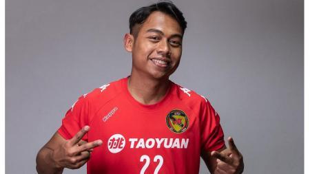 Pemain Indonesia yang berkarier di Liga 2 Taiwan, .Agustinus Wiranto. - INDOSPORT