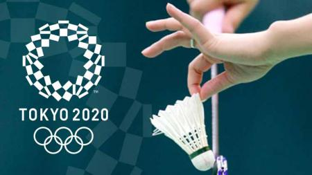 Ilustrasi kejuaraan bulu tangkis Olimpiade Tokyo 2020. - INDOSPORT