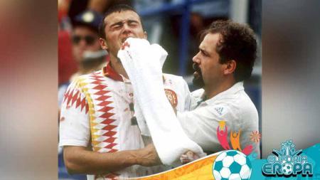 Laga Euro 2020 antara Italia vs Spanyol bak membuka luka lama Luis Enrique. - INDOSPORT