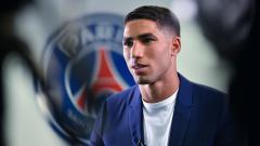 Indosport - Achraf Hakimi, bek kanan Paris Saint-Germain