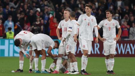 Spanyol dikalahkan Italia lewat adu penalti di semifinal Euro 2020 - INDOSPORT