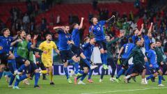 Indosport - Selebrasi skuad Italia di Euro 2020