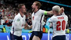 Indosport - Berikut hasil pertandingan semifinal Euro 2020 antara Inggris vs Denmark. Sempat tertinggal, Inggris ke final dengan diwarnai penalti kontroversial.