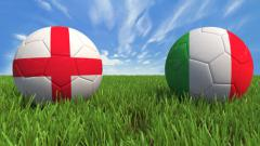 Indosport - Final Euro 2020 mempertemukan antara Inggris vs Italia