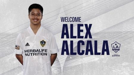 Alejandro Alcala atau Alex Alcala, wonderkid Meksiko yang bermain untuk LA Galaxy II. - INDOSPORT