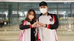 Indosport - Melati Daeva dan Praveen Jordan berangkat ke Olimpiade Tokyo.