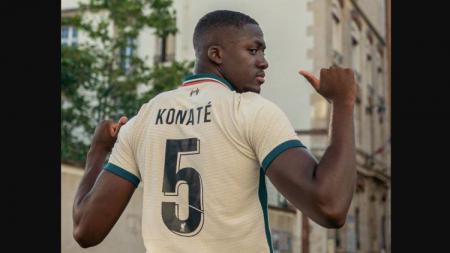 Ibrahima Konate, tekrutan anyar Liverpool. - INDOSPORT