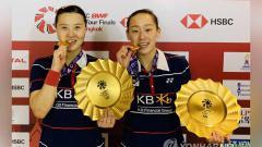 Indosport - Shin Seung-chan/Lee So-hee, ganda putri Korea yang akan tampil di Olimpiade Tokro.