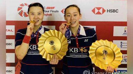 Shin Seung-chan/Lee So-hee, ganda putri Korea yang akan tampil di Olimpiade Tokro. - INDOSPORT