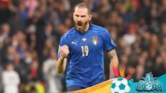 Indosport - Leonardo Bonucci, pemain Timnas Italia.