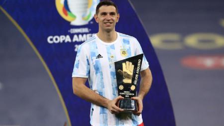 Emiliano Martinez, Terbuang dari Arsenal Malah Jadi Pahlawan di Copa America 2021 - INDOSPORT