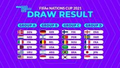 Indosport - Drawing FIFAe Nations 2021. Indonesia berada digrup B.