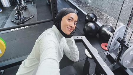Ayudia Bing Slamet Workout - INDOSPORT