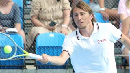 Luka Modric Menangkan Turnamen Tenis di Kroasia - INDOSPORT