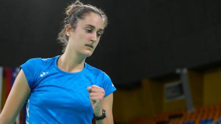 Clara Azurmendi, pebulutangkis Spanyol yang akan tampil di Olimpiade Tokyo. - INDOSPORT