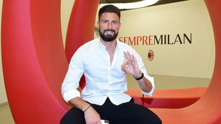 Olivier Giroud Resmi ke AC Milan - INDOSPORT