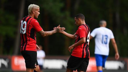Laga pramusim antara AC Milan vs Pro Sesto - INDOSPORT