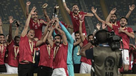 Selebrasi Al Ahly Saat Juara Liga Champions Afrika - INDOSPORT