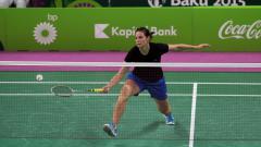 Indosport - Pebulutangkis Israel, Ksenia Polikarpova.