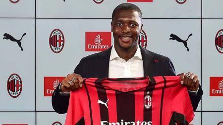 Fode Ballo-Toure, pemain yang baru saja didatangkan AC Milan. - INDOSPORT