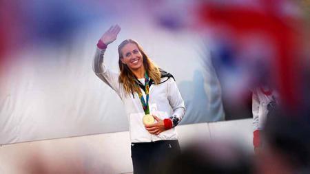 Helen Grover, atlet dayung Britania Raya. - INDOSPORT