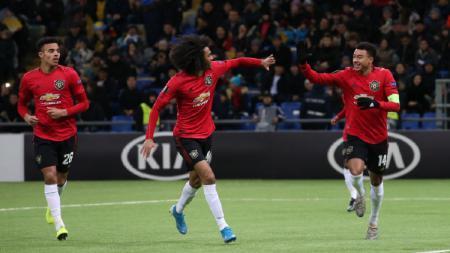 Pemain muda Manchester United, Tahith Chong - INDOSPORT