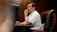 Indosport - Luhut Binsar Pandjaitan umumkan PPKM diperpanjang dua pekan.