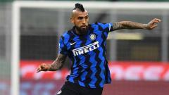 Indosport - Arturo Vidal, pemain Inter Milan.