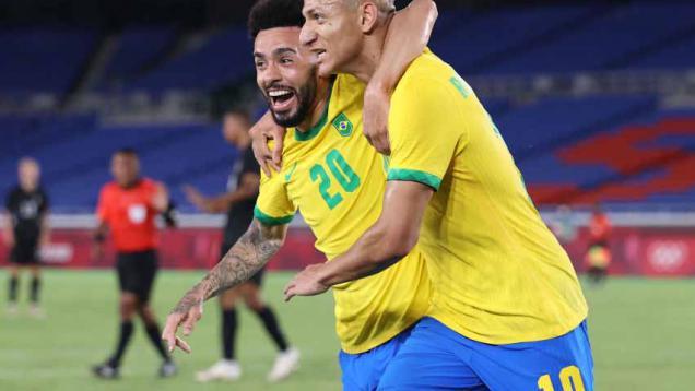 Hasil Sepak Bola Olimpiade Tokyo 2020 Brasil vs Jerman ...