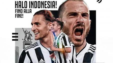 Postingan Juventus dengan Bahasa Indonesia - INDOSPORT
